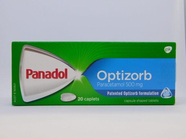 Panadol Optisorb Caplets 20