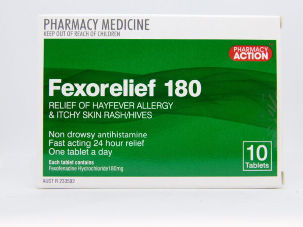 Fexorelief 180 Tablets 10