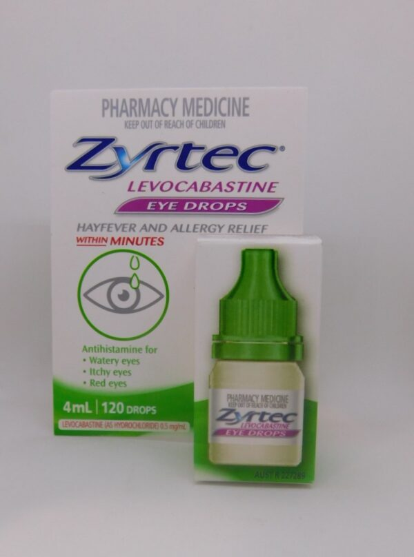 Zryrtec Eye Drops 4ml 120 drops